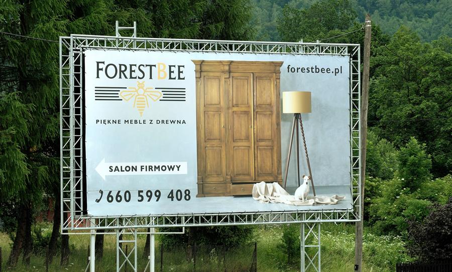 Salon firmowy mebli z drewna